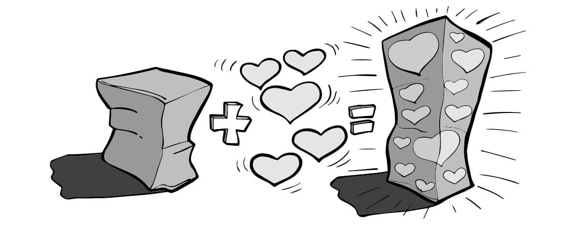 Valentinsdag kampagne